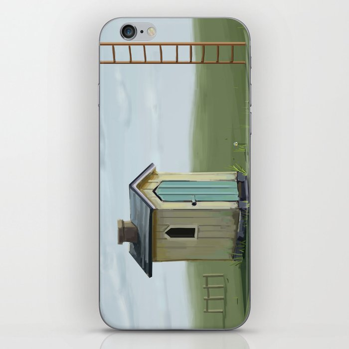sky ladder iPhone Skin
