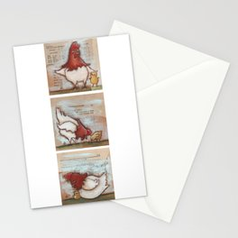 You Are So Loved Chickens - by Diane Duda Stationery Cards