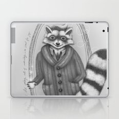 Morning -- Black and White Variant Laptop & iPad Skin