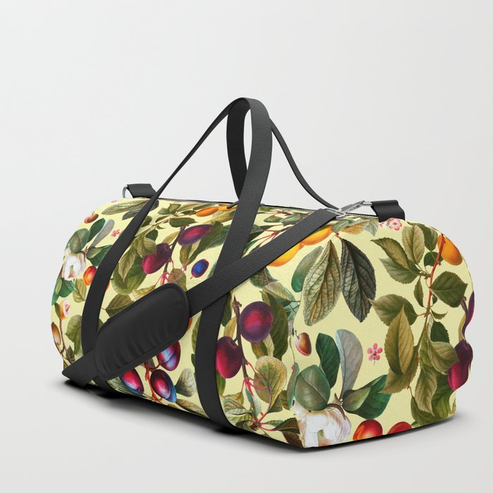 Vintage Fruit Pattern XXI Duffle Bag