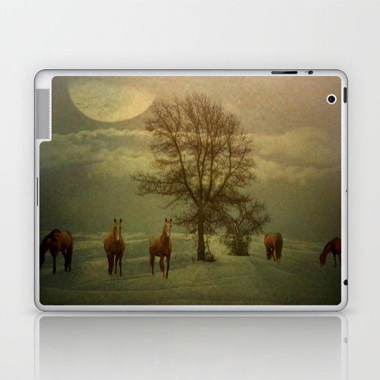 A Winters Evening Laptop & iPad Skin