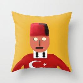 The Turkish Throw Pillow
