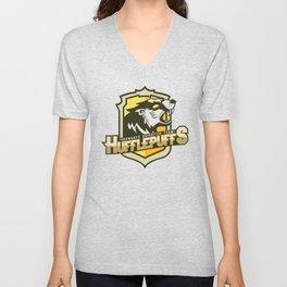 Hogwarts Quidditch Teams - Hufflepuff Unisex V-Neck