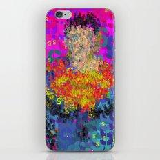 Super Type Man - Abstract Pop Art Comic iPhone & iPod Skin