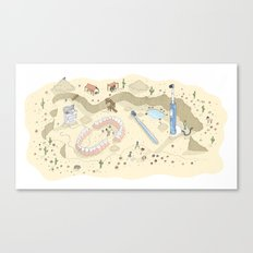 Dental Artifacts Canvas Print