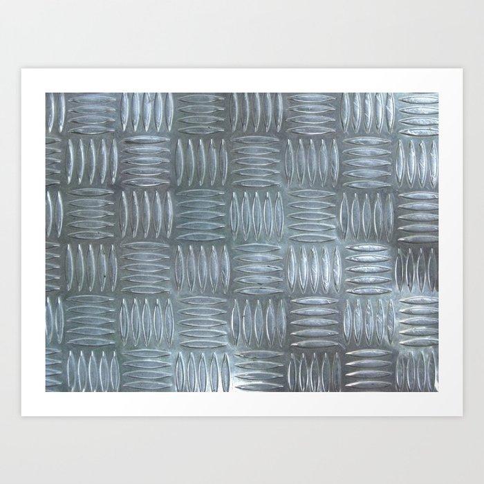 Aluminum Textured Art Print