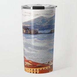 Italy. The Bay of Napoli Travel Mug