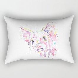 Pig - This Little Piggy Rectangular Pillow