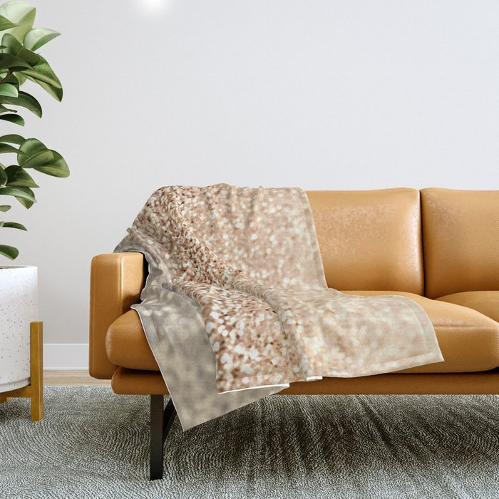 GOLD GOLD GOLD Throw Blanket