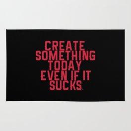 Create Something. Rug
