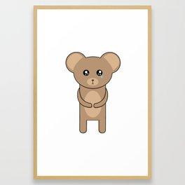 B-ear Framed Art Print