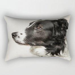 A Beautiful Dog Rectangular Pillow