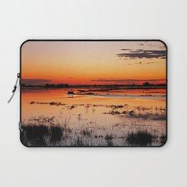 Evening in Africa Laptop Sleeve