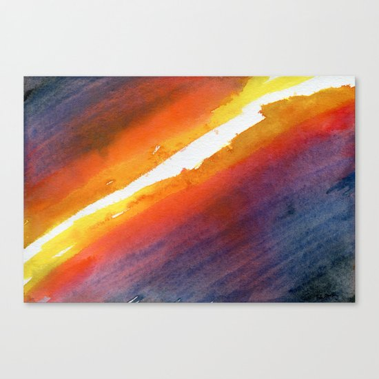 Energy Gradient Canvas Print