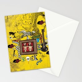 Rock and Fun Stationery Cards