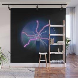 Plasma Ball Wall Mural