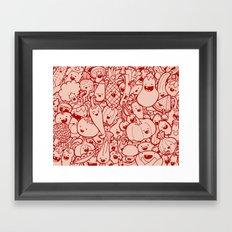 #MoleskineDaily_53 Framed Art Print