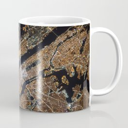 New York From Above Coffee Mug