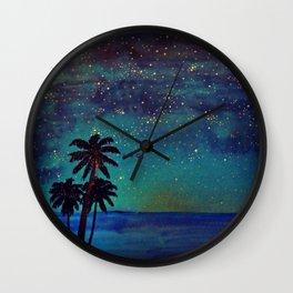 Seaside Impressions Wall Clock