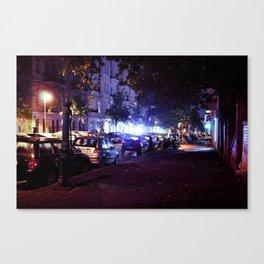 Berlin's street Canvas Print