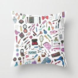 Make Up Throw Pillow