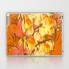Indian Summer Yucca Flowers Laptop & iPad Skin