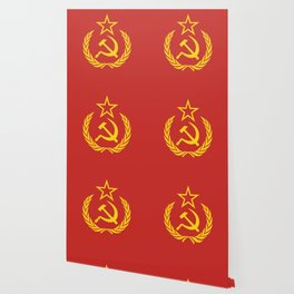 Communist Cold War Flag Wallpaper