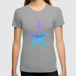 Fantasy Glitter hamilton musical T-shirt