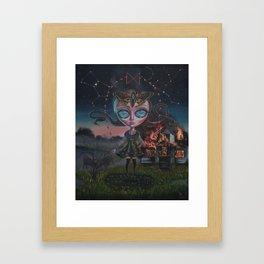 Dagaz Framed Art Print