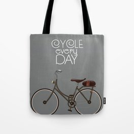 Cycle Every Day, Tote Bag