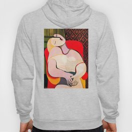 Pablo Picasso A Dream 1932 (Le Reve) Artwork T Shirt Hoody