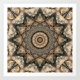 Mandala Isolation Art Print