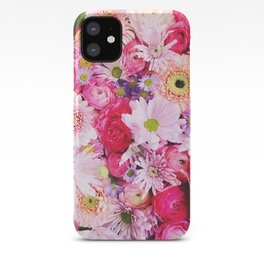 Bloom Bright Flower Photography Flat Lay iPhone Case