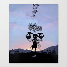 Poison Ivy Kid Canvas Print