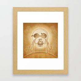 Beso2 Framed Art Print