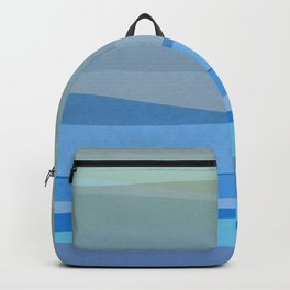 Blue Abstract I Backpack