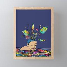 Spring Head Framed Mini Art Print