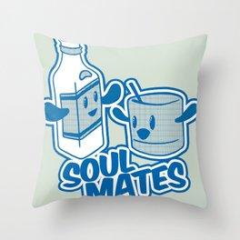Soul Mates!  Throw Pillow