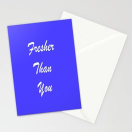 Fresher Thank You : Periwinkle Stationery Cards
