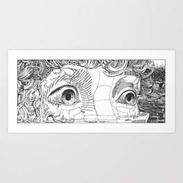 DreamEid - Awake in the Dream Art Print