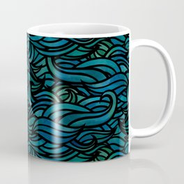 Dark waves Coffee Mug