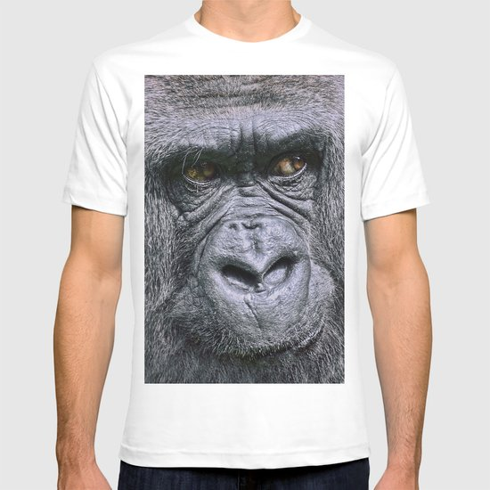 Portrait of a female Gorilla T-shirt