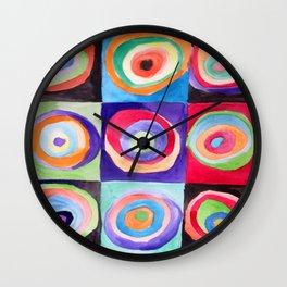 Kool Like Kandinsky Wall Clock