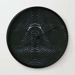 Skin #3_Serpent Black Wall Clock