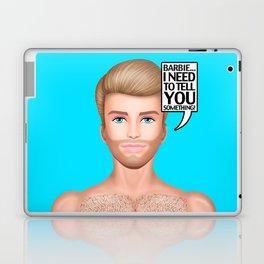 Ken Needs to Talk! Laptop & iPad Skin