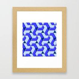 Geometrix XX Framed Art Print