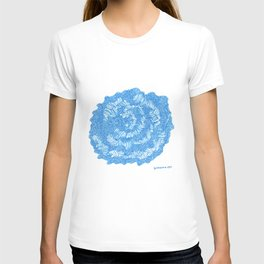 March's Blue 5    | Artline Drawing Pens Sketch T-shirt