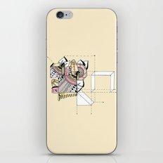 La geometría de las flores II iPhone & iPod Skin