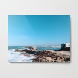 Sunny Essaouira Metal Print