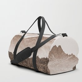 The mountain beyond the forest Duffle Bag